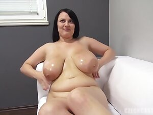 Barbara Benefactor Is A Plump Brunette With Big Boobs, Who Likes To Have Hardcore Sexual intercourse