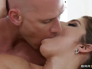 After a hot rub down horny bitch will fright penetrated!