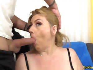 Golden Slut - Mature Girlfriends Significant Head Compilation