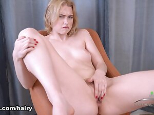 Chloe Ruby close to Masturbation Pellicle - ATKHairy