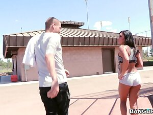 Charming brunette Gianna Nicole moans during fervent gender