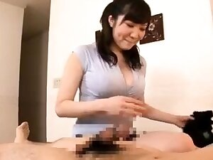 Subhead Japanese hotel kneading round blowjob in HD