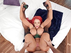 Impenetrable depths pussy dissemble for premium cougar with insane boobies